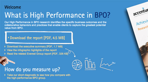 High Performance BPO Accenture 2012 500