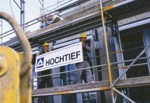 hochtief Bauarbeiter HT Schild 03rgb