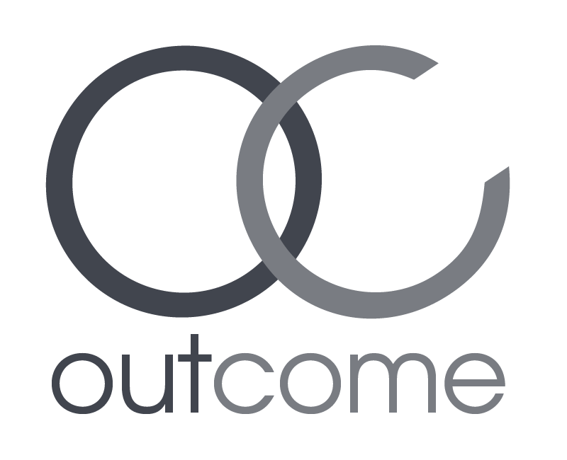 outcome ad logo only 800x650 DARK GREY