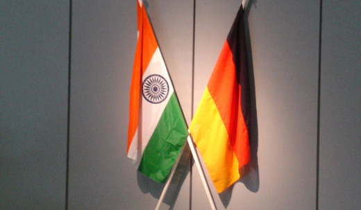 India Germany flags 520